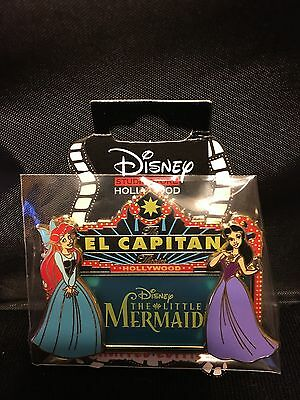 Disney DSF DSSH The Little Mermaid Ariel & Ursula Marquee LE 400 Pin