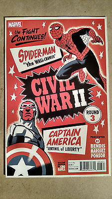 Civil War 2 #3 1St Print Cho & Davila Variant Marvel (2016) Death Of Banner-Hulk