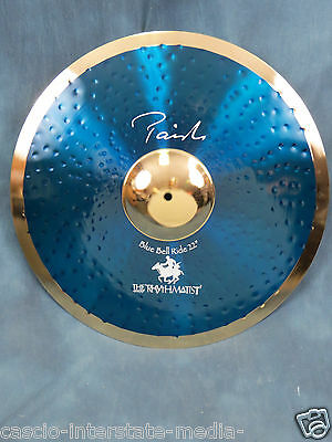 """Paiste Stewart Copeland Signature 22"""" Blue Bell Ride - Excellent Used Condition"""