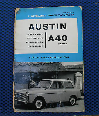 Motor Manual A40 (Sunday Times Publication