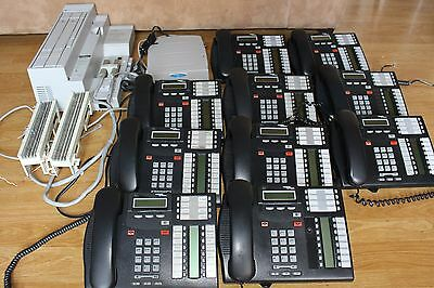 Nortel Norstar CICS  Phone System (10) T7316 Caller ID VoiceMail call pilot