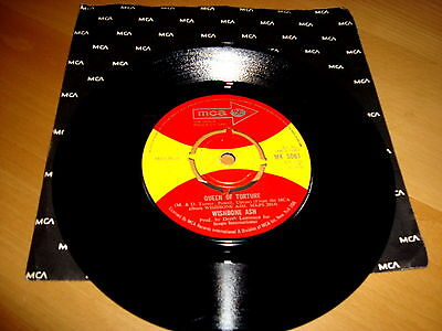 WISHBONE ASH...their 1st single...RARE....QUEEN OF TORTURE...1970 MCA