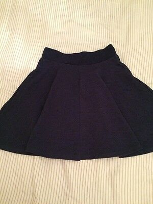 Cooperative  Navy Blue Swing Skirt Size XS