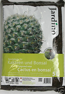 Special earth for Cactus and Bonsai 5l