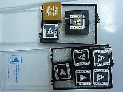 Analog devices IC chips 142B 141B 106B 106A 183A 141A PP25A Philbrick Res.
