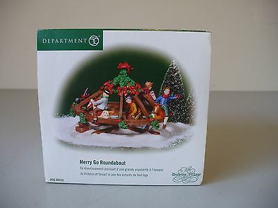 Department 56 Dickens Village Merry Go Roundabout - #56.58533 - Discontinued