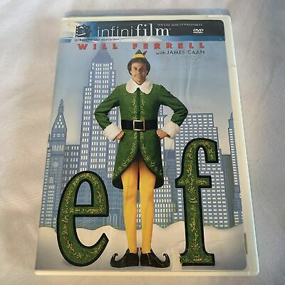 Elf Christmas DVD 2 Discs Will Ferrell James Caan Holiday Classic