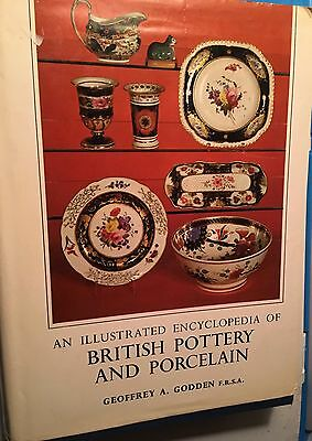 Encyclopedia of Antique British Ceramics Pottery Porcelain Makers, Marks, 1967