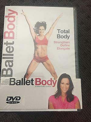 BALLET BODY SIGNATURE SERIES THE COMPLETE 4 DVD SET by Leah Sarago