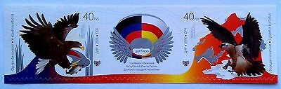 New! DONETSK PEOPLE'S REPUBLIC (DPR) and South Ossetia - 2016 - EAGLES