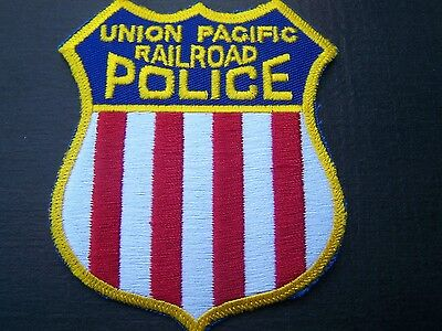 Union Pacific Railroad Police patch