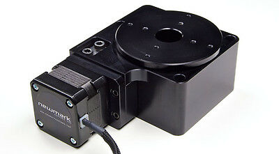"""Newmark Systems 3"""" rotary stage table indexer RT-3-10 w/ Nema 17 Stepper"""