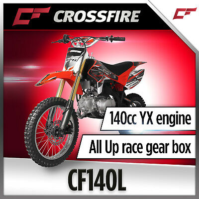 Crossfire CF140L 140cc Dirt Bike, Pit Bike, Similar Size to TT-R12LWE