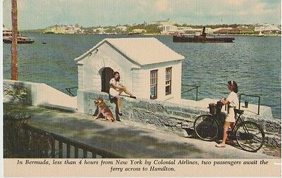 Airline Issued Postcard: Colonial Airlines - Bermuda