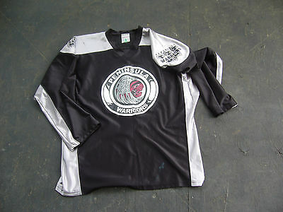 PENINSULA WARRIORS # 99 GAME USED BOX LACROSSE JERSEY Adult MED