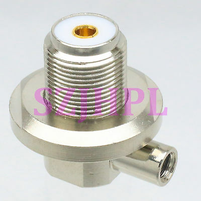 5pcs Connector SO239 UHF female for radio solder RG58 RG142 LMR195 right angle