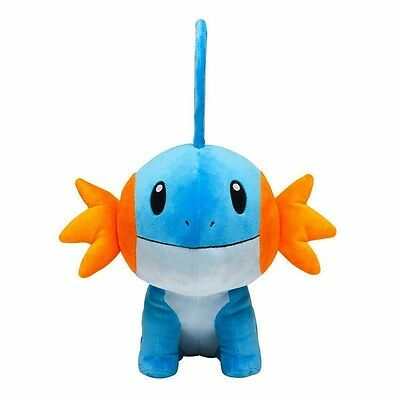 Pokemon Center Origina 2016 Mudkip (Mizugorou) Plush Toy Doll 7""