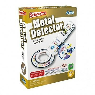 Brand New Artec Science Craft Metal Detector Educational Magnetic Fields Toy