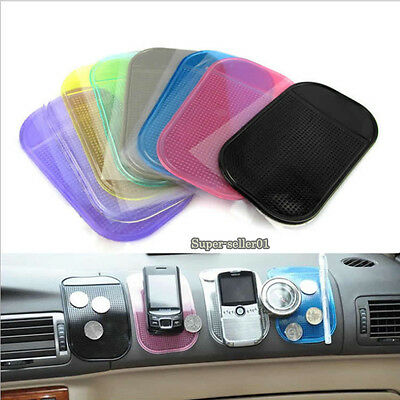 2/5/10Pcs Magic Car Dashboard Sticky Pad Anti-Slip Mat Holder GPS Cell Phone