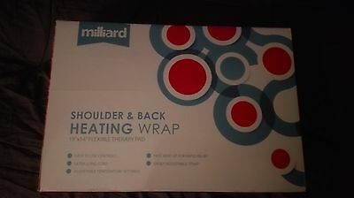 Millard Electric Back & Shoulder Heating & Healing Therapy Pad Rrp £20