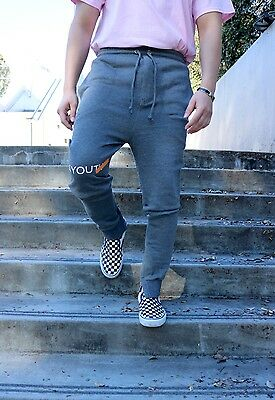 NEW Men's Grey Essential Joggers. Size S, M, L and XL