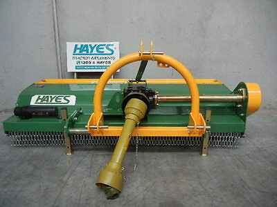 Hayes Tractor Flail Mulcher Mower 1.6M Cut Mechanical Sideshift (Slasher)