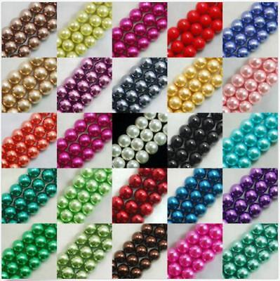 wholesale: beautiful Glass pearls Czech republic interval beads/4mm/6mm/8mm/10mm