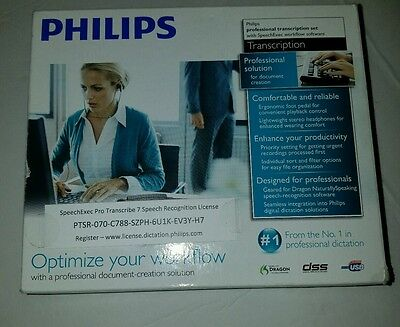 Philips Transcription professional solution for document creation model LFH7277