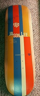 "Jason Lee Blue ""Jean Harlow"" SIGNED skateboard deck"