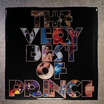 PRINCE The Very Best Of Record Cover Art Ceramic Tile Coaster