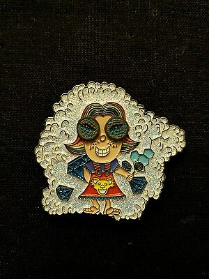 Grateful Dead Lucy Spinner Pin Lucy in the Sky with Diamonds festival beatles GD