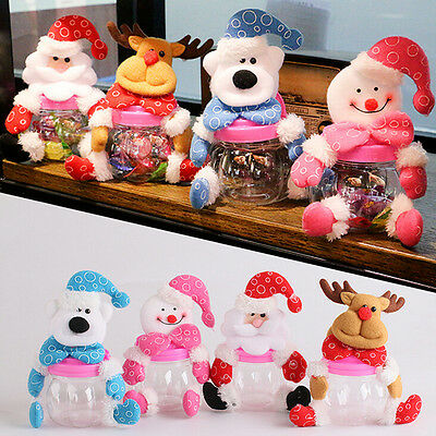 Christmas Candy Bottle Mini Candy Bags Gift Holder for Christmas Decoration