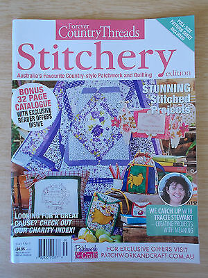 Forever Country Threads Vol 15 #3~Quilts~Embroidery~Bag~Wall-Hangings~Friendship