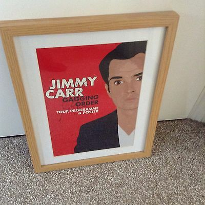 Jimmy Carr Signed