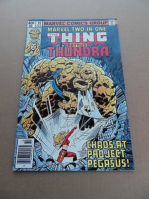 Marvel Two In One 56 .  Marvel 1979 - VF