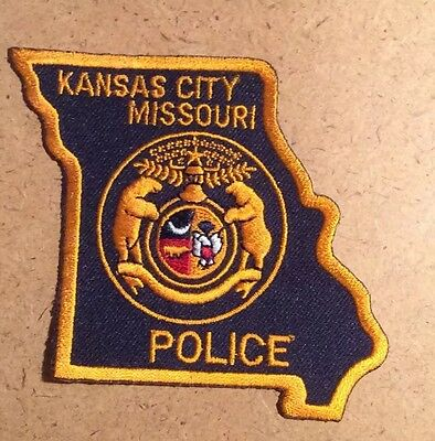New Kansas City Missouri Police Department Embroidered Shoulder Patch
