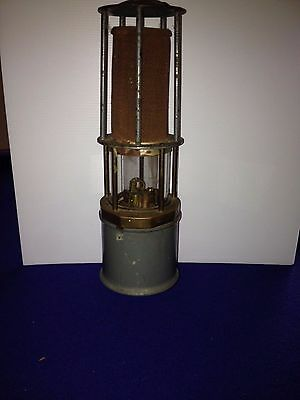 Antique Miners Lamp - Gas Lamp Detector No 5