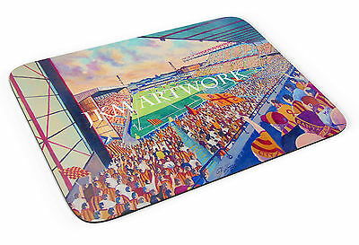 Valley Parade Stadium Art Mouse Mat - Bradford City FC