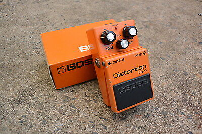 1987 Boss DS-1 Distortion MIJ Vintage Effects Pedal w/Box