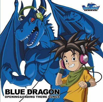 Blue Dragon Opening & Ending T Audio CD