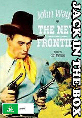 The New Frontier DVD NEW, FREE POSTAGE WITHIN AUSTRALIA REGION ALL