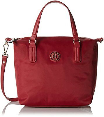 (TG. 50 cm) Scooter Red Tommy Hilfiger 8719111592725 Poppy Tote Borsa Messenger,
