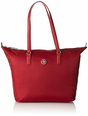 (TG. 50 cm) Scooter Red Tommy Hilfiger 8719111592664 Poppy Tote Borsa Messenger,