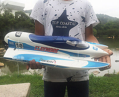 White New Length 66cm Simulation Remote Control Boat Children's Gift Toys  #