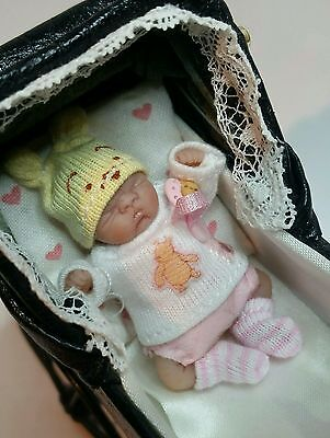 Ooak baby polymer clay