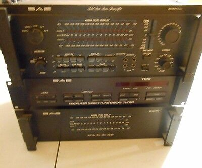 Vintage SAE Preamplifier, Power Amplifier and Tuner Stereo System!!!
