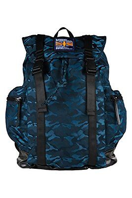 (TG. 50 cm) Teal (AB6) Superdry Camo City Breaker Zaino Casual, 50 cm, Teal (AB6
