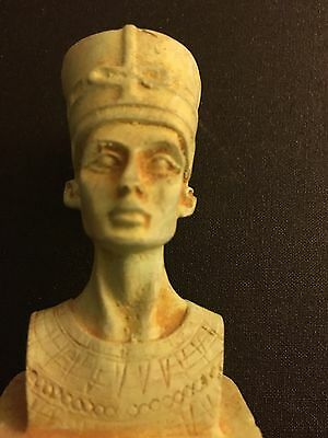 Rare Ancient Egyptian  Nefertiti 1370 bc 1330s B.C