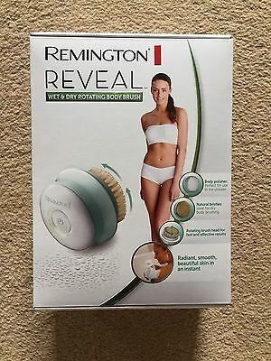 Remington Reveal Wet and Dry Exfoliating Body Brush BRAND NEW