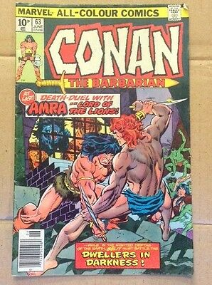 Marvel Comics - Conan The Barbarian #63 - Death Duel With Arma